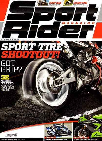 Sport Rider Cover - 12/1/2012