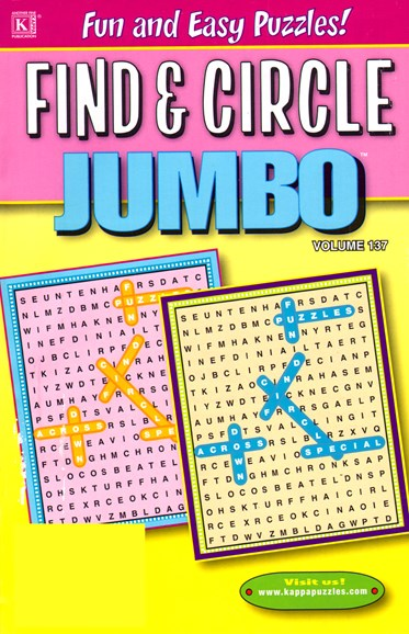 Find & Circle Jumbo Cover - 12/1/2012