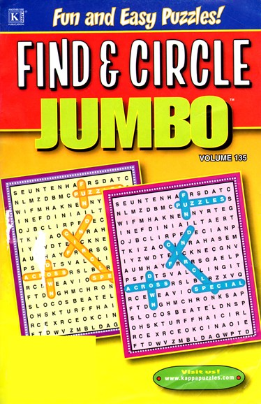 Find & Circle Jumbo Cover - 10/1/2012