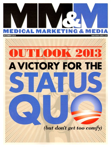 Medical Marketing & Media Cover - 12/1/2012