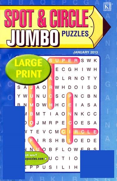 Spot & Circle Jumbo Cover - 1/1/2013