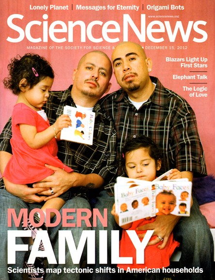 Science News Cover - 12/15/2012