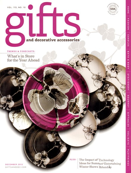 Gifts And Decorative Accessories Cover - 12/1/2012