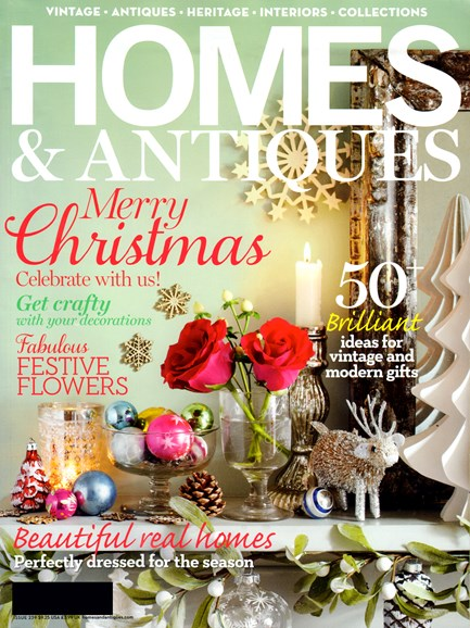 Homes & Antiques Cover - 12/1/2012