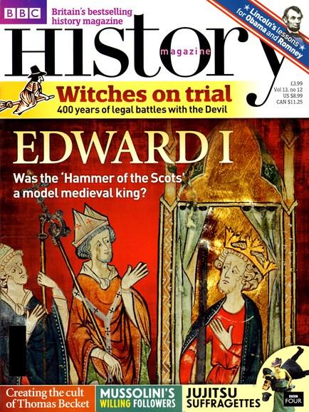 BBC History Cover - 12/1/2012