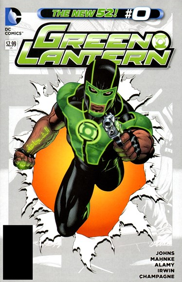 Green Lanterns Cover - 11/1/2012
