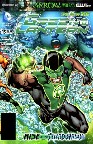 Green Lanterns Cover - 12/1/2012