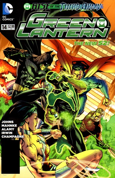 Green Lanterns Cover - 1/1/2013