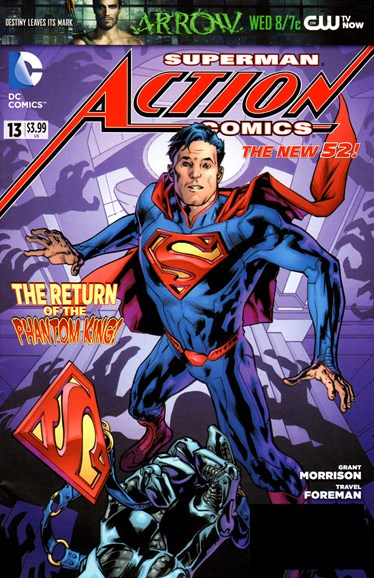 Action Comics Cover - 12/1/2012