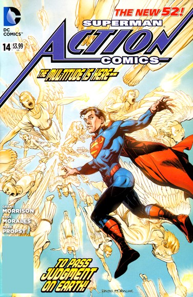 Action Comics Cover - 1/1/2013