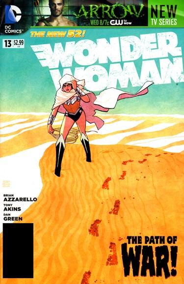 Wonder Woman Cover - 12/1/2012