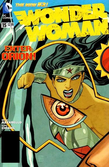 Wonder Woman Cover - 2/1/2013