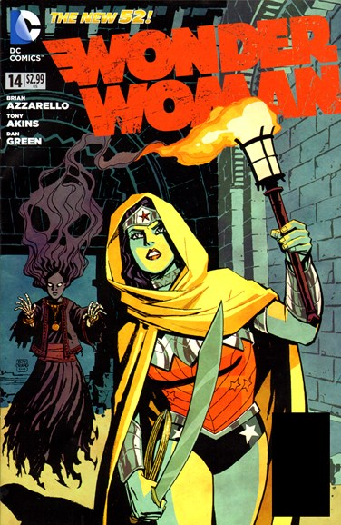Wonder Woman Cover - 1/1/2013