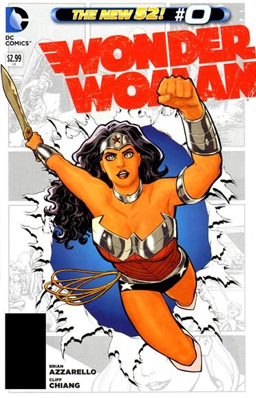 Wonder Woman Cover - 11/1/2012