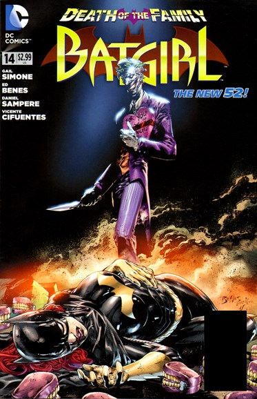 Batgirl Cover - 1/1/2013