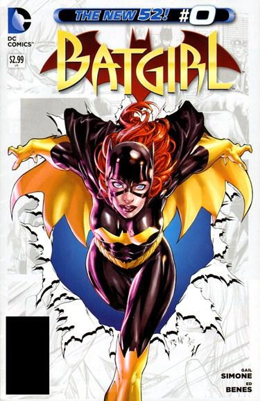 Batgirl Cover - 11/1/2012