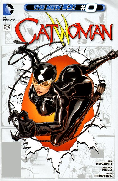 Catwoman Cover - 11/1/2012