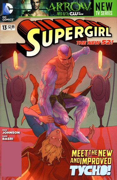 Supergirl Cover - 12/1/2012