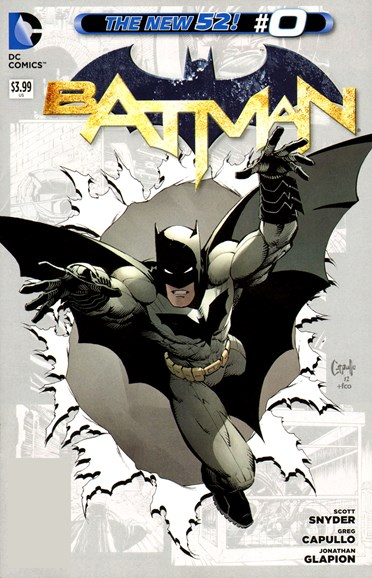 Batman Cover - 11/1/2012
