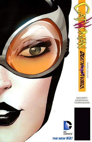 Catwoman Cover - 12/1/2012
