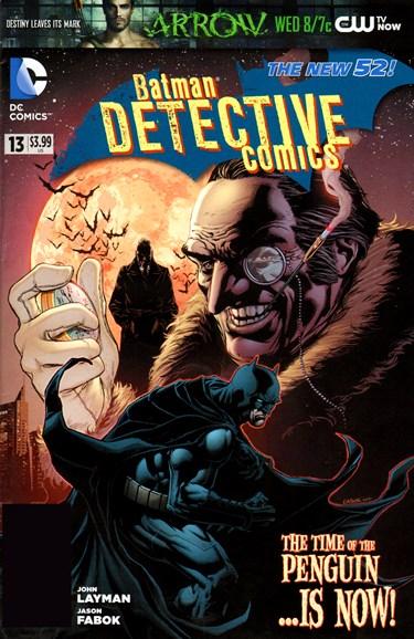 Detective Comics Cover - 12/1/2012