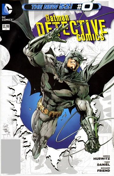 Detective Comics Cover - 11/1/2012