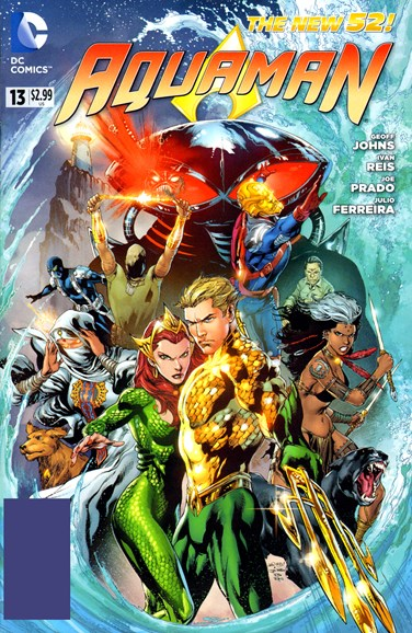 Aquaman Cover - 12/1/2012