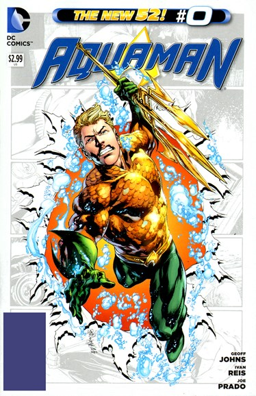Aquaman Cover - 11/1/2012