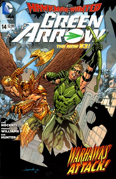 Green Arrow Cover - 1/1/2013