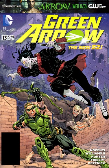 Green Arrow Cover - 12/1/2012