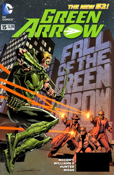 Green Arrow Cover - 2/1/2013