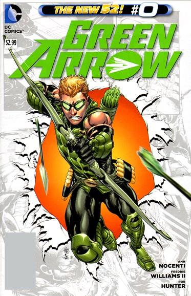 Green Arrow Cover - 11/1/2012