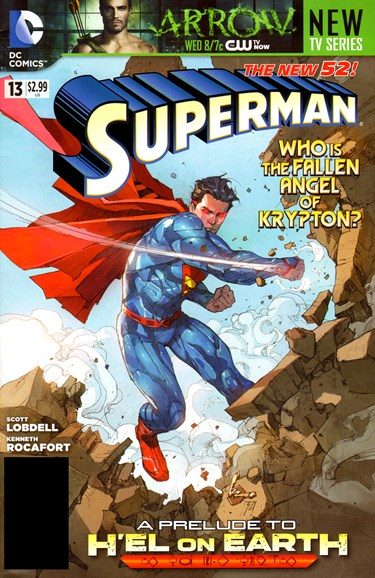 Superman Cover - 12/1/2012