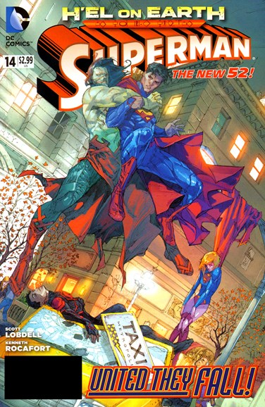 Superman Cover - 1/1/2013