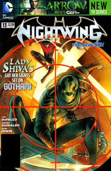 Nightwing Cover - 12/1/2012