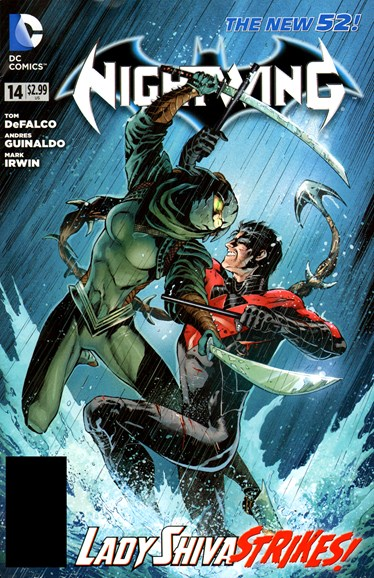 Nightwing Cover - 1/1/2013