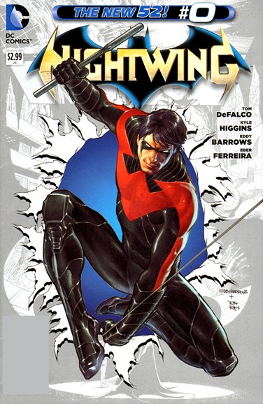 Nightwing Cover - 11/1/2012