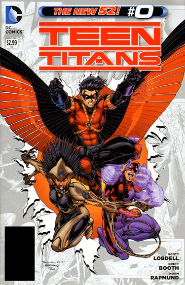 Teen Titans Cover - 11/1/2012