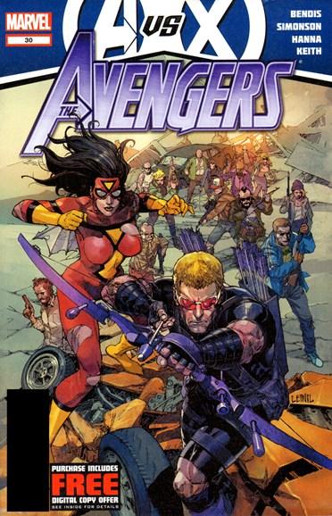 Avengers Cover - 11/1/2012