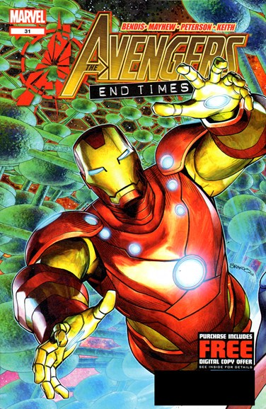 Avengers Cover - 12/1/2012