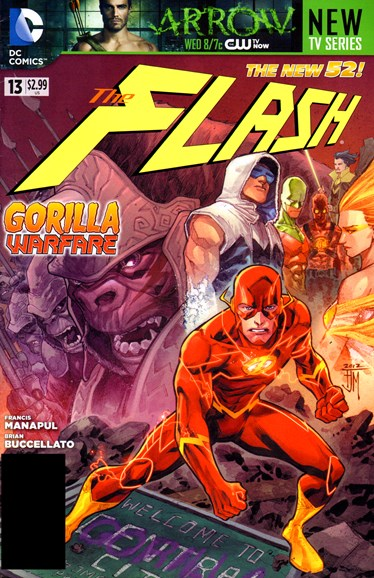 The Flash Cover - 12/1/2012