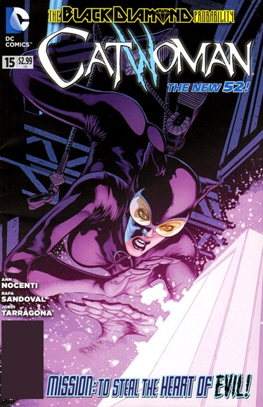 Catwoman Cover - 2/1/2013