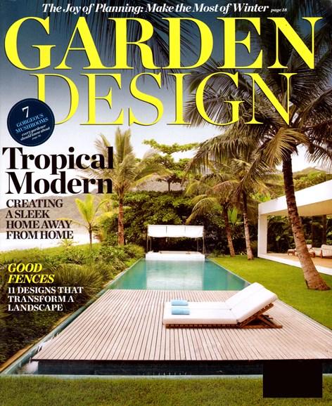 Garden Design Cover - 12/1/2012