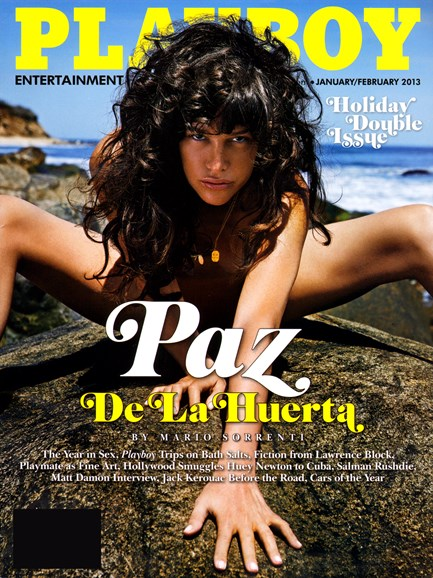 Playboy Cover - 1/1/2013