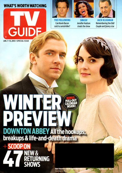 TV Guide Cover - 1/7/2013