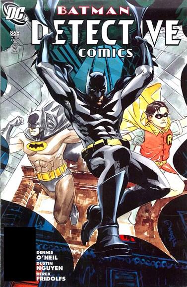 Detective Comics Cover - 8/1/2010