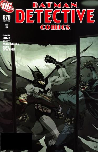 Detective Comics Cover - 12/1/2010