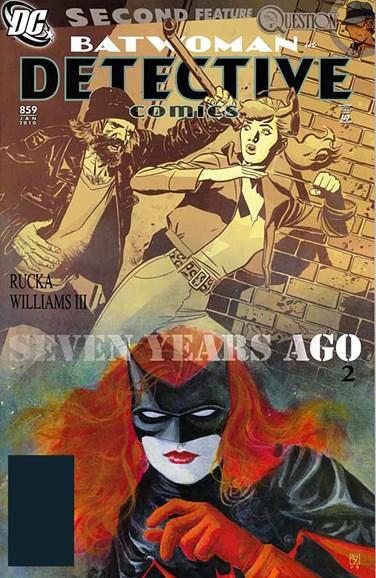 Detective Comics Cover - 1/1/2010