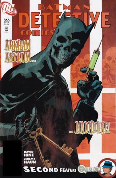 Detective Comics Cover - 7/1/2010