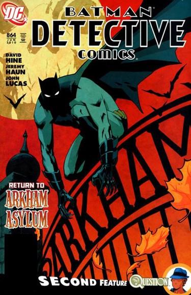 Detective Comics Cover - 6/1/2010